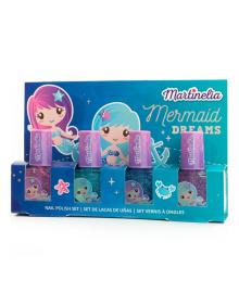 Набор лаков для ногтей Martinelia Mermaid 4 шт 30401, 8436576504291