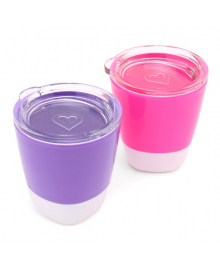 Набор стаканчиков Munchkin Splash Pink&Purple 2 шт