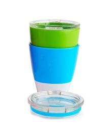 Набор стаканчиков Munchkin Splash Green&Blue 2 шт