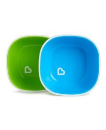 Набор тарелок Munchkin Splash Green&Blue 2 шт