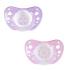Силиконовая пустышка Chicco Physio Аir, 0-6 месяцев, розовый, 2 шт. (75030.11.00.00), 8058664109654