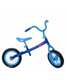 Детский беговел M 3255-2, 12 дюймов, голубой