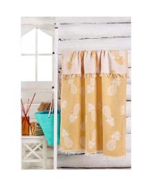 Полотенце Eponj Home Jakarli - Ananas koyu sari желтый 100*180 (2000022201315) SVTEX-2000022201315