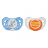 Пустышка Chicco Physio Аir Blue and Orange Латекс 6-16 мес 2 шт