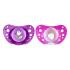Пустышка Chicco Physio Аir Purple and pink Силикон 16-36 мес 2 шт