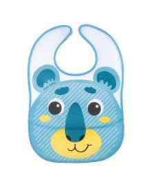 Нагрудник пластмассовый Canpol babies Hello Little Bear