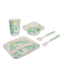 Набор посуды Canpol babies Lama 5 эл