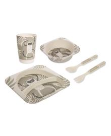 Набор посуды Canpol babies Lemur 5 эл