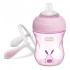 Поильник-непроливайка Chicco Transition Cup, 200 мл, розовый (06911.10.50)