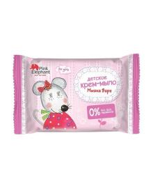 Детское мыло Pink Elephant Мышка Варя, 90 г