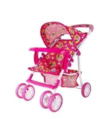Игрушечная коляска для кукол Disney Minnie с бампером Shantou Jinxing plastics ltd D1007M, 4897015540494
