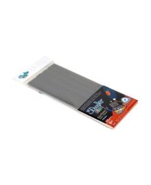 Набор стержней 3Doodler Start для 3D-ручки, серый, 24 шт. 3DS-ECO08-GREY-24