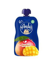 Пюре фруктовое Andy Манго 90 г