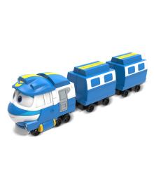 Игровой набор Robot Trains Паровозик с двумя вагонами Кей
