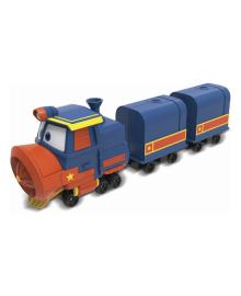 Игровой набор Robot Trains Паровозик с двумя вагонами Виктор