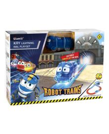 Игровой набор Robot Trains Железная дорога Молния