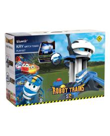 Игровой набор Robot Trains Сторожевая Башня