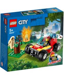 Конструктор LEGO City Лесные пожарные (60247), 5702016617818