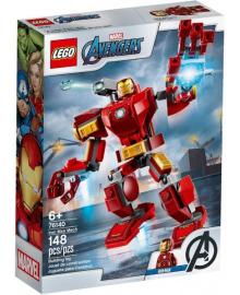 Конструктор LEGO Super Heroes Железный Человек: трансформер (76140), 5702016618020