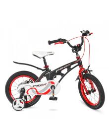 Детский велосипед PROFI 14д. LMG14201 Infinity, черно-красный