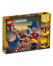 LEGO® Creator Огненный дракон 31102