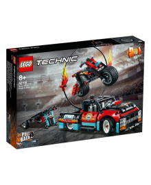 LEGO® Technic™ Каскадерская грузовик и мотоцикл 42106