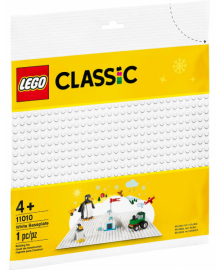 Конструктор LEGO Classic Базовая пластина белого цвета (11010), 5702016616613
