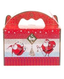 Новогодний набор конфет Житомирські Ласощі Веселих Свят! Дед Мороз 400 г