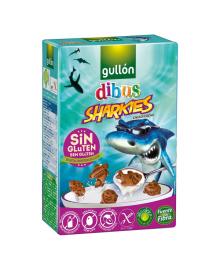 Детское печенье Gullon Dibus Sharks 250 г