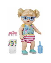 Интерактивная кукла Hasbro Baby Alive Первые Шаги Малышка Блондинка E5247ES0, 5010993597710