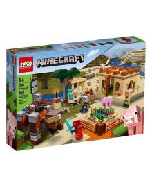 LEGO® Minecraft™ Нападение вредителей 21160, 6942138949711