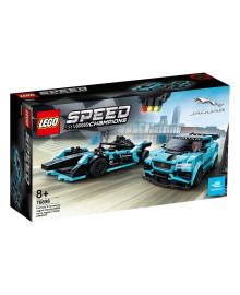 LEGO® Speed Champions Автомобили Formula E Panasonic Jaguar Racing GEN2 и Jaguar I-PACE eTROPHY 76898