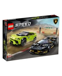 LEGO® Speed Champions Автомобили Lamborghini Urus ST-X та Lamborghini Huracán Super Trofeo EVO 76899