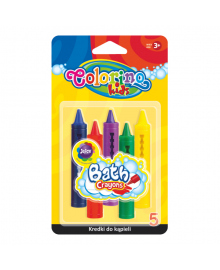 Мел для рисования в ванной Colorino Juicy 5 шт 67300PTR