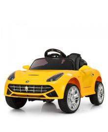 Детский электромобиль BAMBI M 3176 EBLR-6, Ferrari, кожаное сиденье