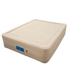 Надувная кровать Bestway со встроенным насосом 203х152х51 см (69037)