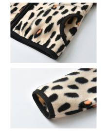Кофта для девочки флисовая утеплённая Ирбис, бежевый Berni Berni Kids SVLT-WY1549