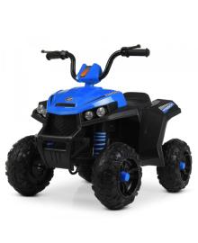 Детский квадроцикл BAMBI M 4131 EL-4, кожаное сиденье, синий