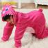 Детская кигуруми пижама розовый стич, р. 80-100 см