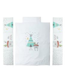 Комплект постельного белья Interbaby Tipi Oso Blanco 6 эл