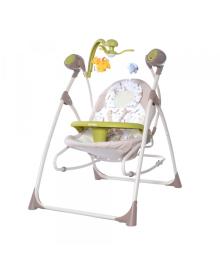 Детские колыбель-качели Carrello Nanny (Каррелло Нани) 3 в 1 CRL-0005 Brown Fox (6900075000292) цвет кориченвый