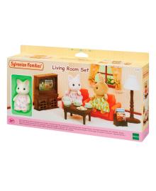 Набор мебели с фигуркой Sylvanian Families Гостиная 5379, 5054131053799