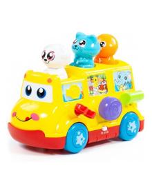 Развивающая игрушка Полесье Школьный автобус 77080, 4810344077080