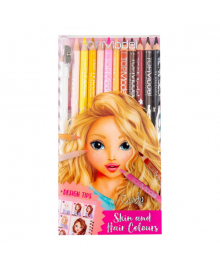 Набор цветных карандашей TOP Model Лицо и волосы