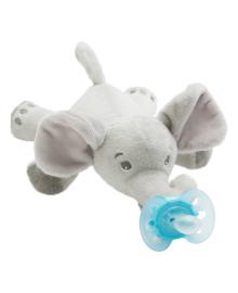 Плюшевая игрушка с пустышкой Philips Avent Elephant