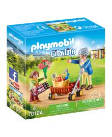 Игровой набор Playmobil Бабушка с внуком