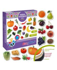 Набор магнитов Magdum Фрукты и овощи