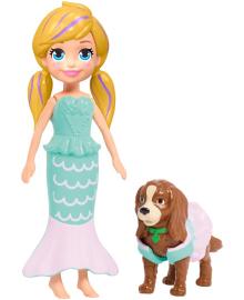 Маленькая модница с любимцем Polly Pocket Mattel GDM15