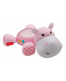 """Музыкальный ночник-проектор """"Розовый гиппопотам"""" Fisher-Price FGG89"""