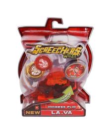 Машинка-трансформер Screechers Wild Lava